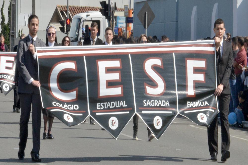 CESF e Anchieta - desfile Sete de Setembro