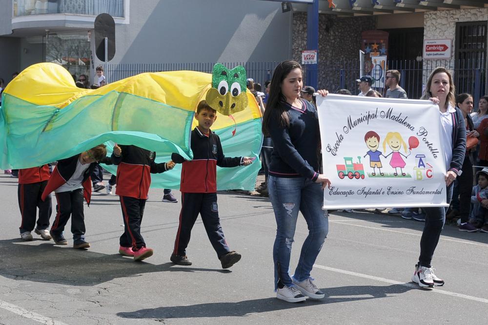 Madalena Portela - desfile Sete de Setembro